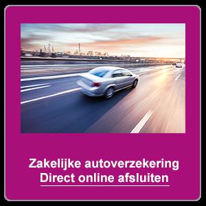 Zakelijke autoverzekering online afsluiten